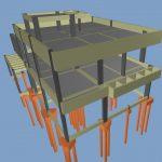 Estrutura em 3D