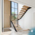 Escada diferenciada